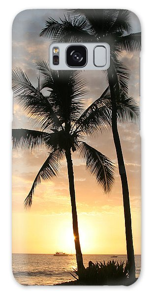 Hawaiian Sunset Galaxy Case by John Bushnell