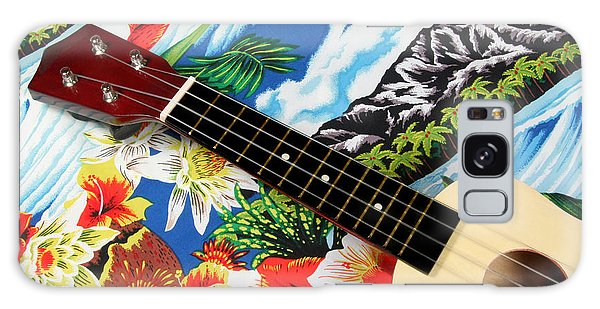 Hawaiian Ukulele Galaxy Case