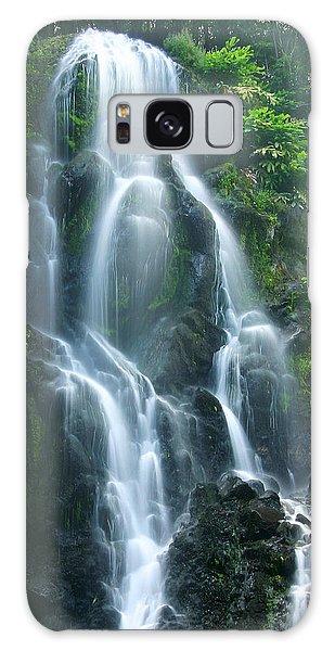 Hawaiian Waterfall Galaxy Case