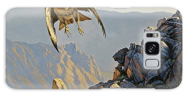 Hawk Galaxy Case - Hawk Above Beartooth Pass by Paul Krapf