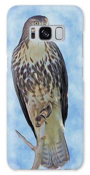 Hawk By Frank Lee Hawkins Galaxy Case