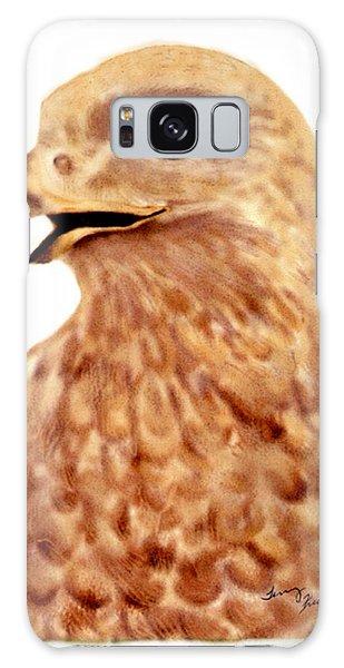 Hawk Galaxy Case by Terry Frederick