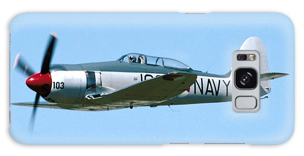 Hawker Sea Fury Nx51sf Flying Camarillo August 23 2003 Galaxy Case