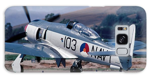 Hawker Sea Fury Nx51sf Taxiing Camarillo August 23 2003 Galaxy Case