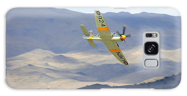 Galaxy Case featuring the photograph Hawker Sea Fury T Mk.20 At Reno Air Races by John King