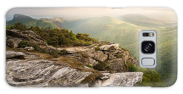 Hawksbill Mountain Sunset Galaxy Case