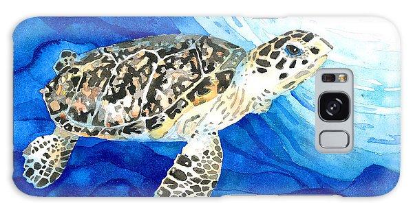 Hawksbill Sea Turtle 2 Galaxy Case