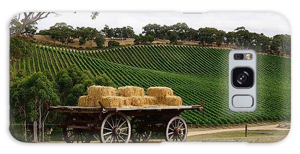 Hay Wagon Galaxy Case