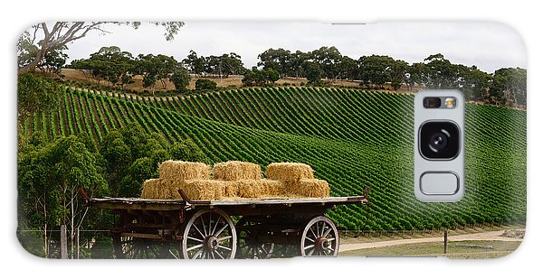 Hay Wagon Galaxy Case