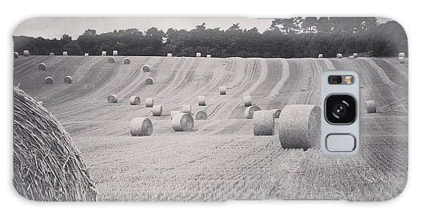 Summer Galaxy Case - #haybales #summer #france by Georgia Fowler
