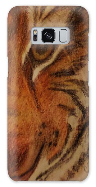 Hayley's Zoo Tiger Galaxy Case by Christy Saunders Church