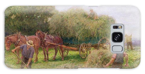 Cart Galaxy Case - Haymaking by Arthur Hopkins
