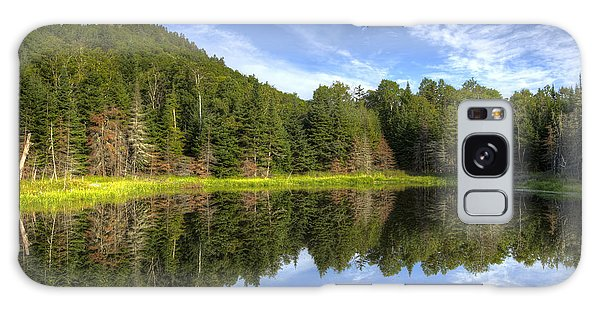 Haystack Mountain And Pond Galaxy Case by Gary Smith