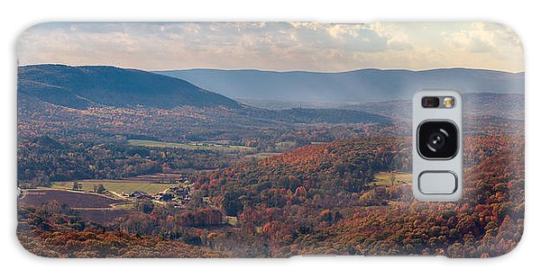 Haystack Mountain Tower View Galaxy Case by Craig Szymanski