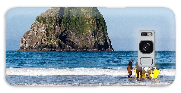 Haystack Rock And Dory Fishermen Galaxy Case