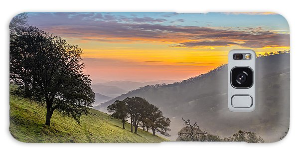Hazy East Bay Sunrise Galaxy Case