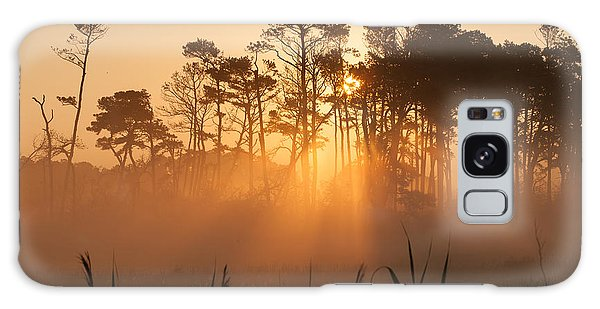 Hazy Summer Morning Sunrise Galaxy Case