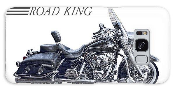 H D Road King Galaxy Case by Daniel Hagerman