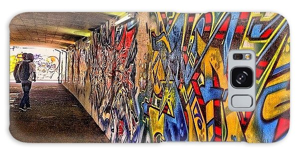 #hdr #colour #graffiti #steampunk #art Galaxy Case