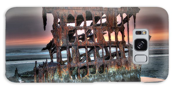 Hdr Peter Iredale Galaxy Case by James Hammond