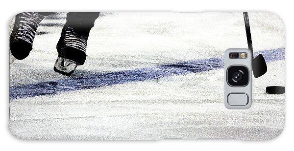 Ice Galaxy Case - He Skates by Karol Livote