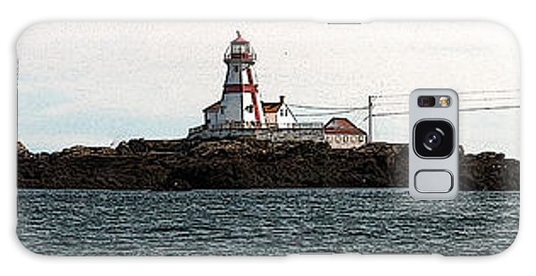 Head Harbour Lighthouse Galaxy Case