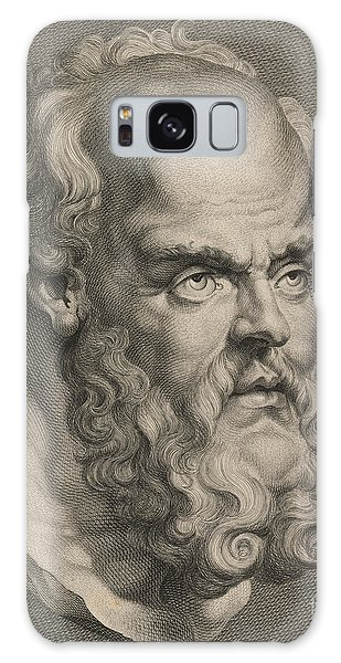 Philosopher Galaxy Case - Head Of Socrates by Anonymous
