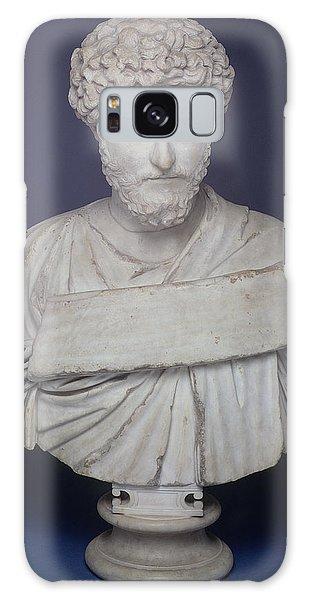 The Empire Galaxy Case - Head Of The Emperor Marcus Aurelius by Roman School