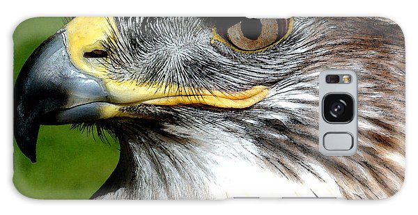Head Portrait Of A Eagle Galaxy Case