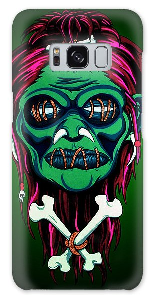 Voodoo Galaxy S8 Case - Headhunter by Steve Hartwell