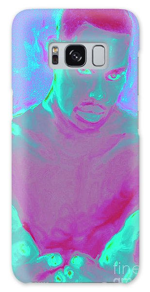 Heal My Blues Galaxy Case by Vannetta Ferguson