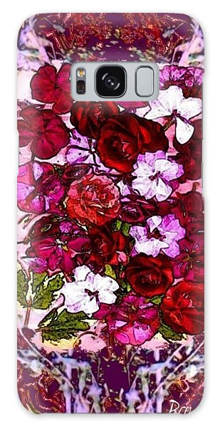 Healing Flowers For You Galaxy Case