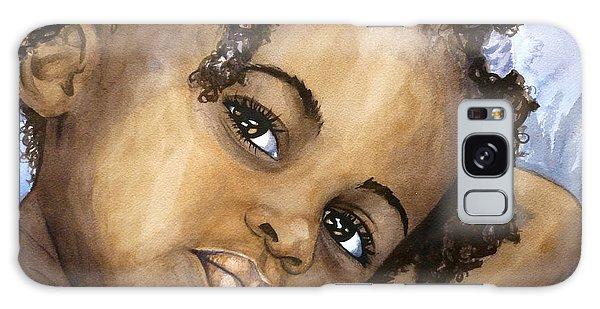 Nigerian Eyes Galaxy Case