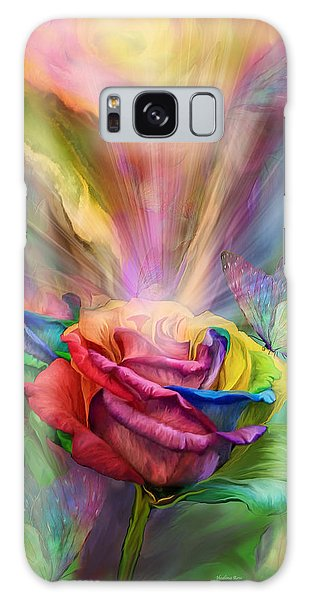 Healing Rose Galaxy Case
