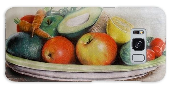 Healthy Plate Galaxy Case