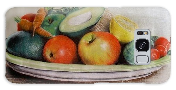 Healthy Plate Galaxy Case by Katharina Filus
