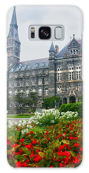 Washington D.c Galaxy Case - Healy Hall by Mitch Cat