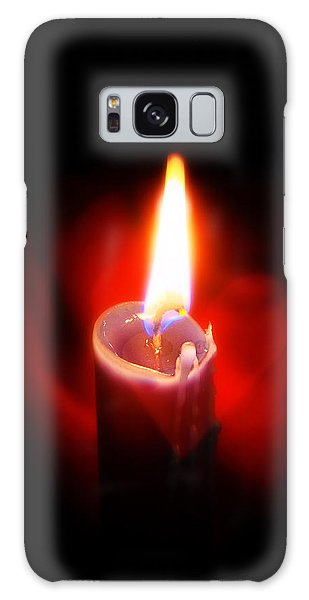Heart Aflame Galaxy Case
