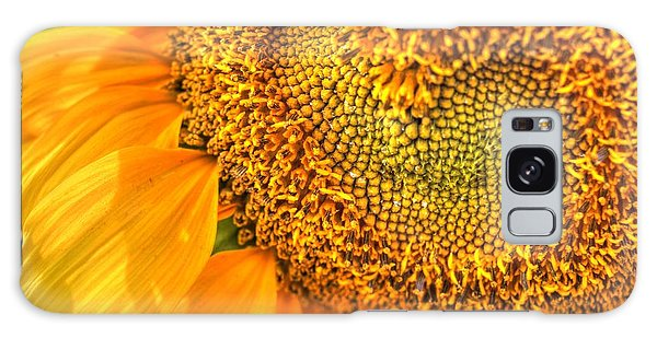 Heart-felt Sunflower Galaxy Case