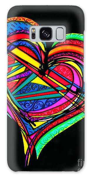 Heart Heart Heart Galaxy Case
