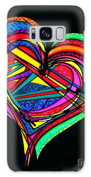 Heart Heart Heart Galaxy Case