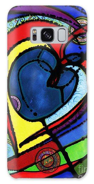 Heart II  Galaxy Case