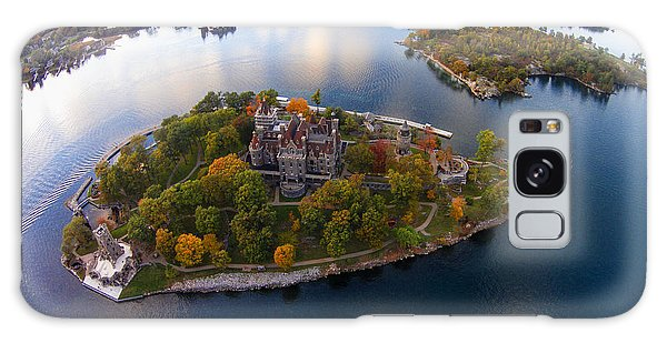 Heart Island George Boldt Castle Galaxy Case by Tony Cooper