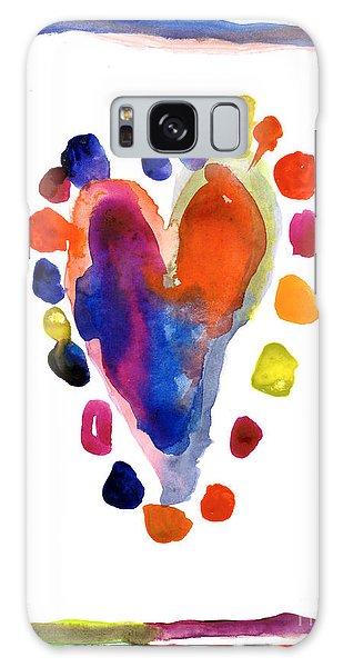 Heart Galaxy Case