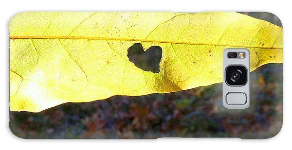Heart Leaf Galaxy Case