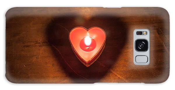 Heart Light Galaxy Case by Aaron Aldrich