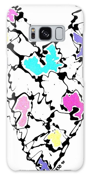 Heart Map Galaxy Case by Marlene Rose Besso