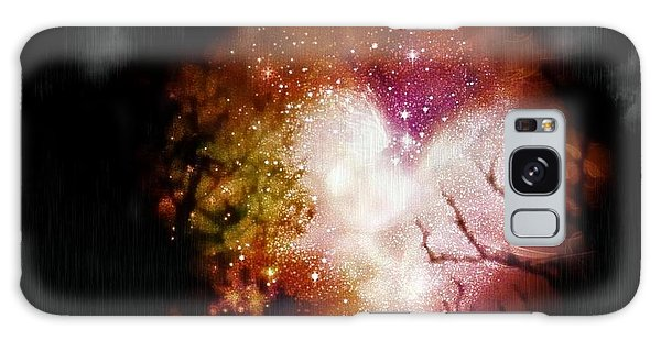 Heart Planet Galaxy Case by Michelle Frizzell-Thompson