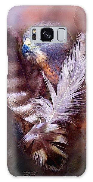 Heart Of A Hawk Galaxy Case