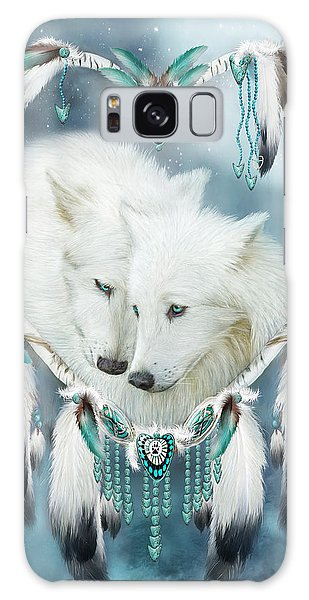 Heart Of A Wolf Galaxy Case